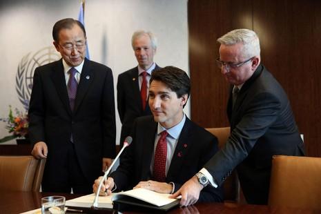 Nụ cười ấm áp và vẻ lịch lãm của Thủ tướng Canada  - ảnh 3