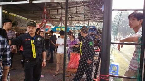 """Hội chợ container """"khủng"""" tại Hà Nội bị giải tán - ảnh 2"""