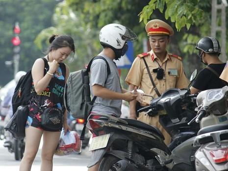 Cận cảnh camera giám sát vi phạm của lực lượng 141 Hà Nội - ảnh 3