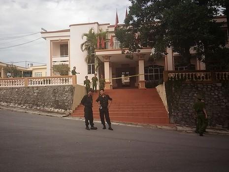 Lãnh đạo Yên Bái bị bắn: Siết an ninh tại nhà nạn nhân và nghi phạm - ảnh 1