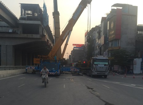 Nhà thầu đường sắt Cát Linh - Hà Đông bị phạt 30 triệu - ảnh 1