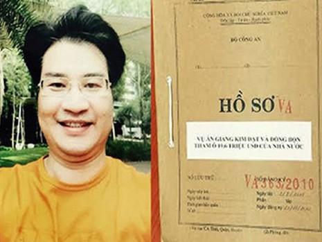 """Truy tố Giang Kim Đạt cùng """"bộ sậu"""" tại Vinashinlines - ảnh 1"""