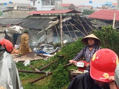 Nổ lớn tại Thái Bình, 2 người tử vong - ảnh 1
