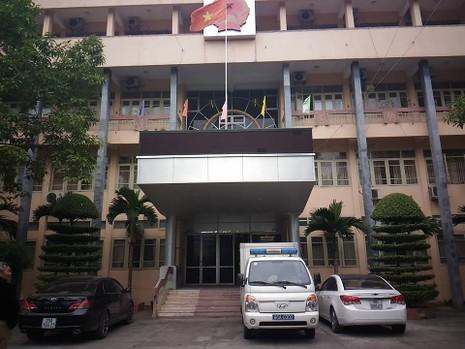 TAND tỉnh Bắc Giang nơi xét xử hai cán bộ làm oan ông Chấn. Ảnh: Tuyến Phan