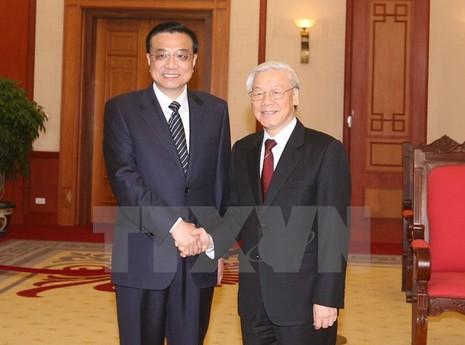 Thúc đẩy quan hệ Việt-Trung phát triển ổn định và lành mạnh - ảnh 1