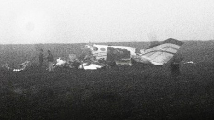 Chiếc máy bay bị nạn. Ảnh: Newyorktimes.