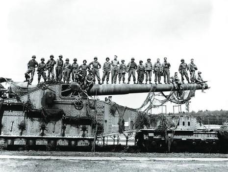 Đại pháo khổng lồ của Phát xít Đức