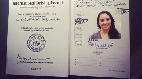 Từ tháng 8 sẽ cấp bằng lái quốc tế được lưu hành ở 73 quốc gia - ảnh 1