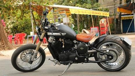 Sửng sốt với môtô tự chế 'cực độc' của thợ xe Sài Gòn - ảnh 13