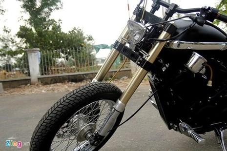 Sửng sốt với môtô tự chế 'cực độc' của thợ xe Sài Gòn - ảnh 7