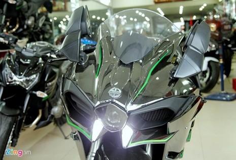 Cận cảnh siêu môtô Ninja H2 đầu tiên về Việt Nam - ảnh 8