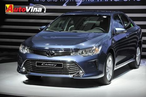 Ngắm chi tiết Toyota Camry 2015 vừa ra mắt - ảnh 2