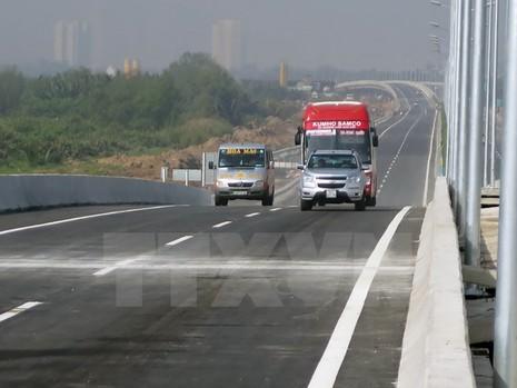 Thu phí hơn 22km đầu tiên cao tốc Hà Nội-Hải Phòng từ 19/5 - ảnh 1