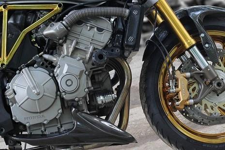 Tận thấy Honda Hornet 600 mạ vàng 24k ở Việt Nam - ảnh 9