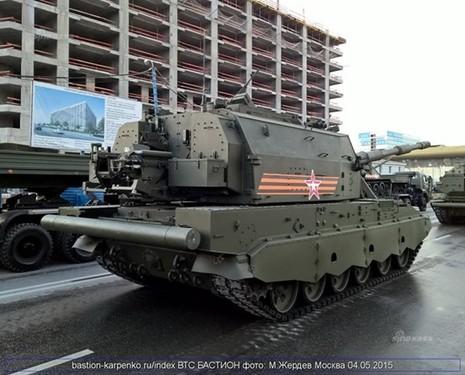 Siêu pháo tự hành vừa lộ diện của Nga mạnh cỡ nào? - ảnh 7
