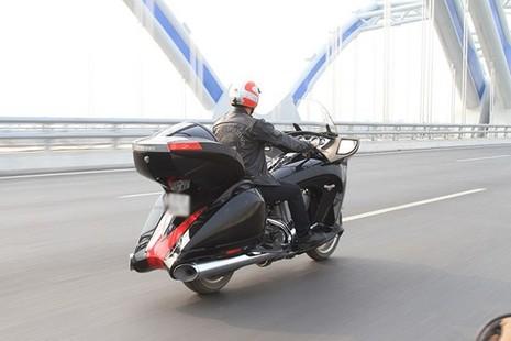 Tận thấy môtô siêu độc Victory Vision Tour 2014 ở Việt Nam - ảnh 14