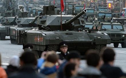 Xe tăng T-14 Armata. Ảnh: Getty.