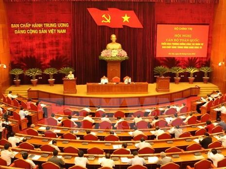 Hội nghị triển khai phương hướng nhân sự Ban Chấp hành TW Đảng - ảnh 1