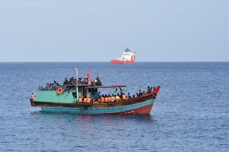 Australia chưa xác nhận tin phát hiện tàu chở người tị nạn Việt Nam - ảnh 1