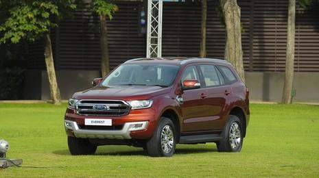 Ford Everest 2015 ra mắt tại Thái Lan giá bán từ 840 triệu đồng