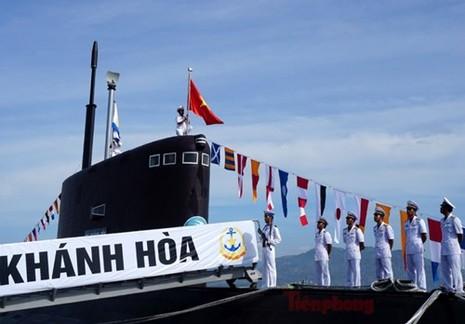 Thượng cờ tàu ngầm 184 - Hải Phòng và 185 - Khánh Hòa - ảnh 6