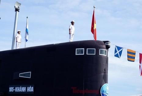 Thượng cờ tàu ngầm 184 - Hải Phòng và 185 - Khánh Hòa - ảnh 8
