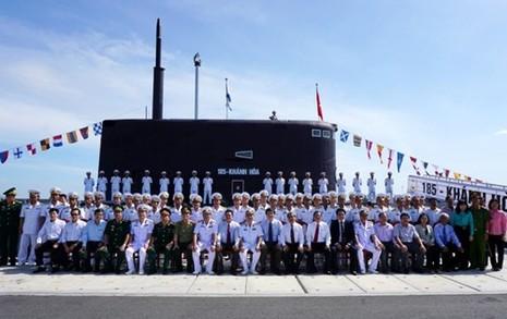 Thượng cờ tàu ngầm 184 - Hải Phòng và 185 - Khánh Hòa - ảnh 15
