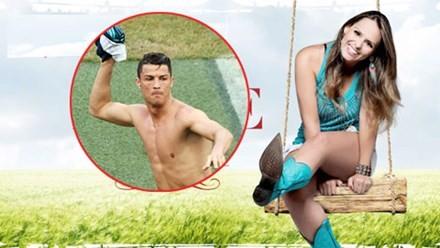 Siêu mẫu Aline Lima vừa năm lần bảy lượt từ chối những màn đong đưa của Ronaldo.