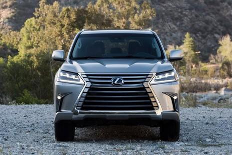 Xe Lexus LX 2016 cải tiến những gì