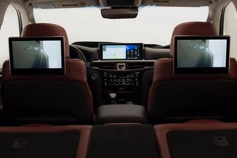 Xe Lexus LX 2016 cải tiến những gì? - ảnh 14