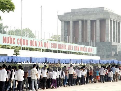 Từ 4/9: Tạm ngừng tổ chức viếng Lăng Chủ tịch Hồ Chí Minh  - ảnh 1
