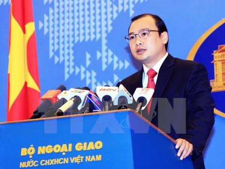 Phản đối Trung Quốc quy hoạch hai quần đảo của Việt Nam - ảnh 1