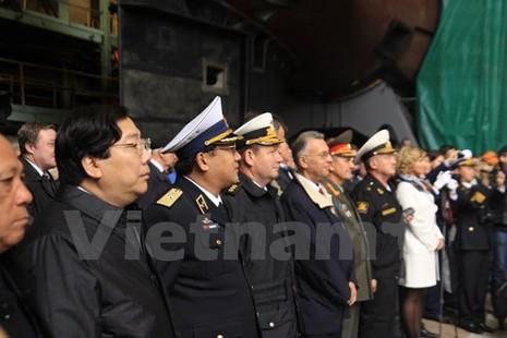 Nga hạ thủy chiếc tàu ngầm Kilo cuối cùng đóng cho Việt Nam - ảnh 3