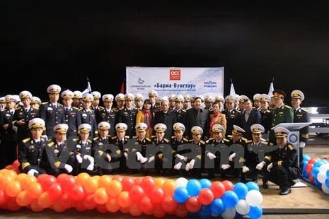 Nga hạ thủy chiếc tàu ngầm Kilo cuối cùng đóng cho Việt Nam - ảnh 2