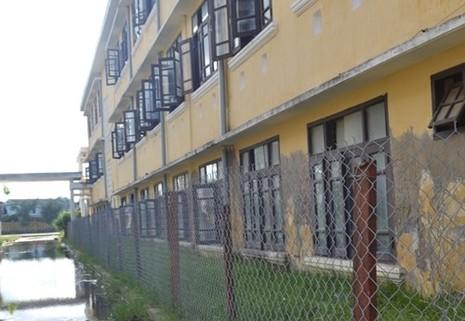 Trường 3 tầng lún cả mét, hàng trăm học sinh sơ tán khẩn - ảnh 5
