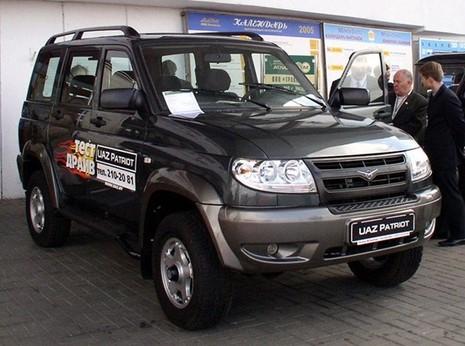 Hãng xe Nga UAZ tính lắp ráp ôtô tại Việt Nam trong năm sau