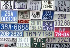 Mức phạt về biển số xe cho xe máy, ô tô vi phạm  - ảnh 1
