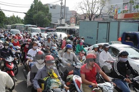 TP Hồ Chí Minh điều chỉnh tổ chức giao thông để giảm kẹt xe - ảnh 1