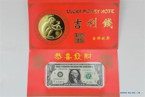 Mỹ ra mắt bộ sưu tập tiền 'lì xì may mắn' năm Bính Thân - ảnh 7