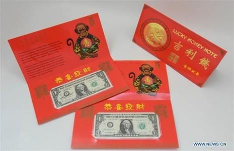Mỹ ra mắt bộ sưu tập tiền 'lì xì may mắn' năm Bính Thân - ảnh 4