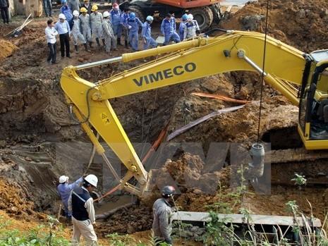 Đề nghị truy tố 9 bị can trong vụ 14 lần vỡ đường ống nước sông Đà - ảnh 1