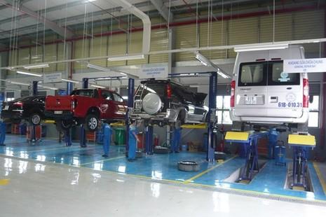 Bảo dưỡng ô tô định kỳ