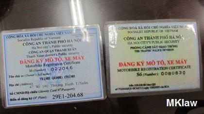 Tại sao không được cấp giấy phép lái xe ôtô khi không xuất trình giấy phép lái xe môtô ?