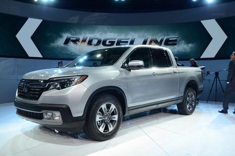 """Ridgeline 2017 : Xe bán tải mới của Honda """"đại náo"""" triển lãm Detroit 2016 - ảnh 2"""