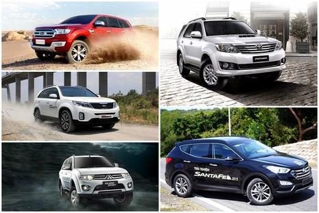 5 mẫu SUV 7 chỗ được người Việt ưa chuộng nhất năm 2015 - ảnh 1