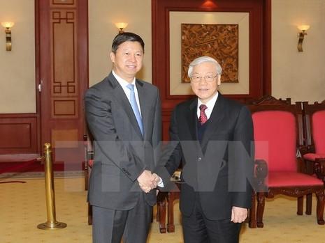 Tổng Bí thư tiếp Đặc phái viên của Tổng Bí thư, Chủ tịch Trung Quốc - ảnh 1