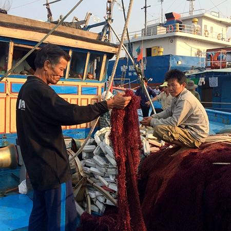 Tàu Trung Quốc đe dọa ngư dân sẽ tông nát tàu và bắt người  - ảnh 2