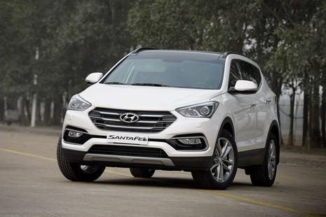 Chính thức ra mắt, Hyundai SantaFe 2016 giá từ 1,1 tỷ đồng - ảnh 8