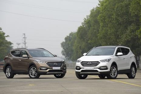 Chính thức ra mắt, Hyundai SantaFe 2016 giá từ 1,1 tỷ đồng - ảnh 2
