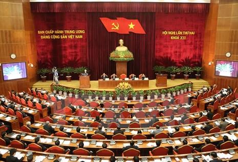 Bế mạc Hội nghị Trung ương 2: Kiện toàn chức danh lãnh đạo nhà nước - ảnh 1